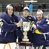 A Bradford Bull Sergey Bolshakov becomes    GMHL best goaltender and best rookie